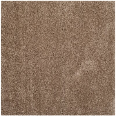 Holliday Brown Area Rug Rug Size: 10 X 10 Square