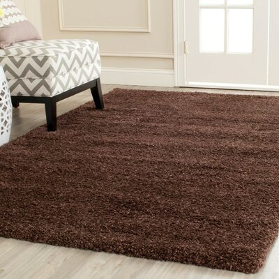 Holliday Brown Rug Rug Size: 8 x 10