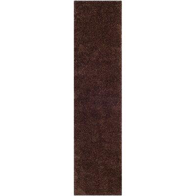 Holliday Brown Rug Rug Size: Runner 2 x 8