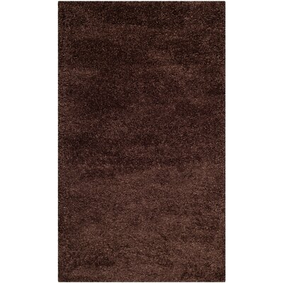 Holliday Brown Rug Rug Size: 3 x 5