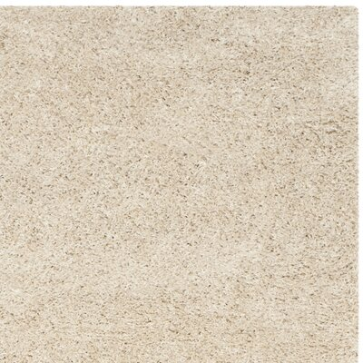 Holliday Rectangle Ivory Area Rug Rug Size: 4 x 6