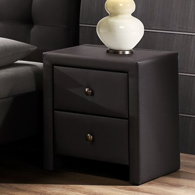 Bagley 2 Drawer Nightstand