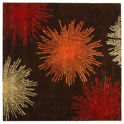 Dash Multi-Colored Area Rug Rug Size: Square 6