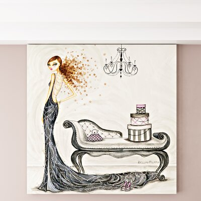 Fabulous Fabiana Painting Print on Wrapped Canvas Size: 12