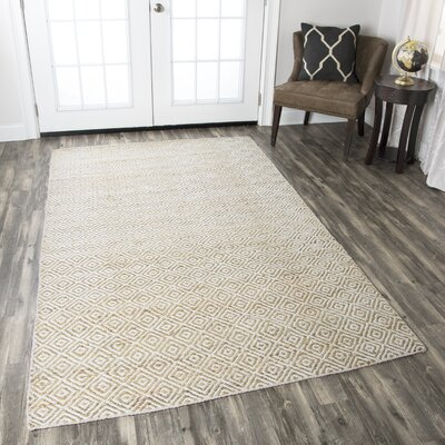 Allegan Hand-Loomed Natural Area Rug Rug Size: Runner 26 x 8