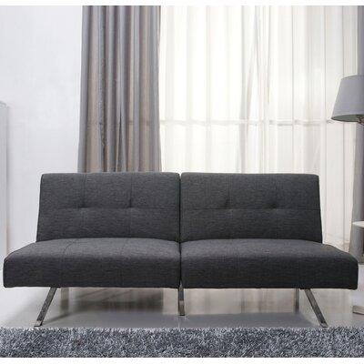 Rosehill Convertible Sofa Upholstery: Gray