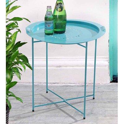 Bondi Tray Bistro Table Finish: Blue