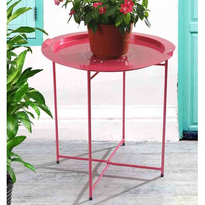 Bondi Tray Bistro Table Finish: Red