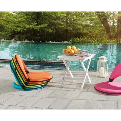 Bonds Foldable Chaise Lounge Fabric: Fushia