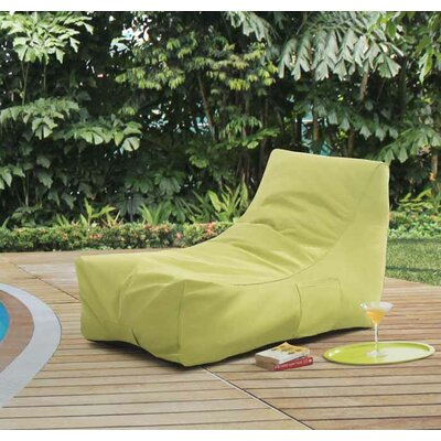Caggiano King Chair Chaise Lounge Fabric: Green