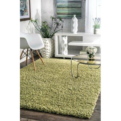 Ashlei Green Area Rug Rug Size: 53 x 76