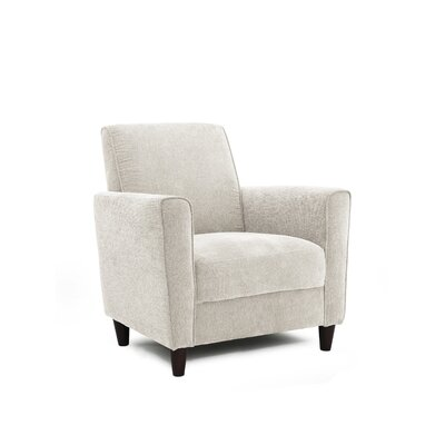 Harman Arm Chair Upholstery: Ivory