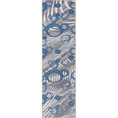 Ruark Blue Area Rug Rug Size: 23 x 73