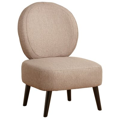 Cales Slipper Chair Upholstery: Taupe