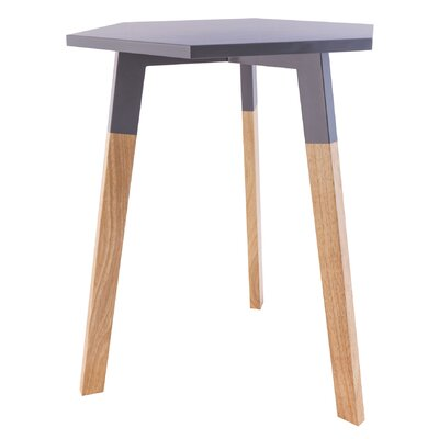 Callaghan End Table Color: Cool Gray