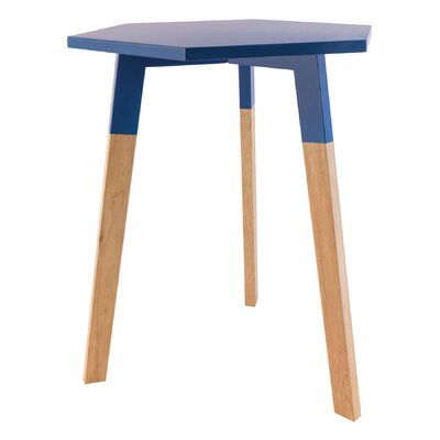 Callaghan End Table Color: Navy Blue