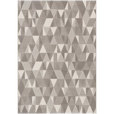 Callaham Gray Area Rug Rug Size: Rectangle 8 x 10