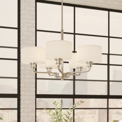 Wyncote 5-Light Shaded Chandelier