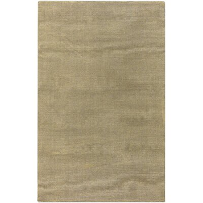 Villegas Gold Area Rug Rug Size: Rectangle 33 x 53
