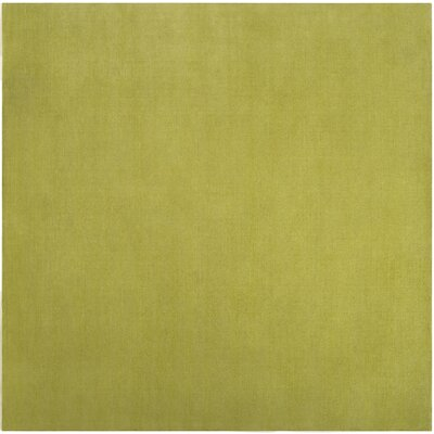 Villegas Lime Green Area Rug Rug Size: Square 9'9