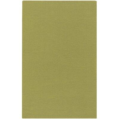 Villegas Lime Green Area Rug Rug Size: 5 x 8
