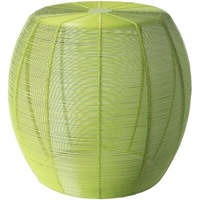 Chenelle End Table Color: Lime