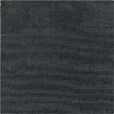 Villegas Dark Gray Area Rug Rug Size: Square 8