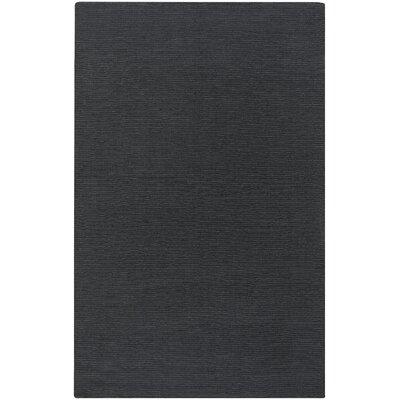 Villegas Dark Gray Area Rug Rug Size: 5 x 8