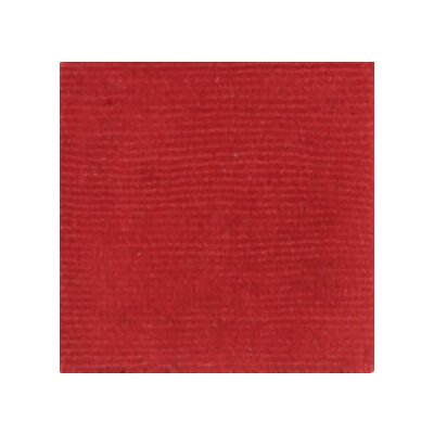 Villegas Red Area Rug Rug Size: Rectangle 76 x 96