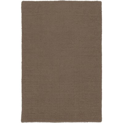 Villegas Chocolate Area Rug Rug Size: Rectangle 8 x 11