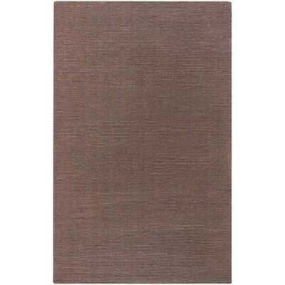 Villegas Chocolate Area Rug Rug Size: Rectangle 5 x 8