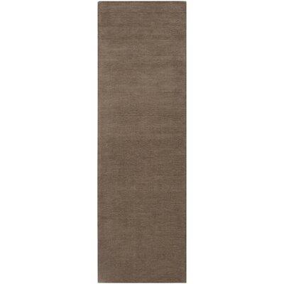 Villegas Chocolate Area Rug Rug Size: Runner 26 x 8