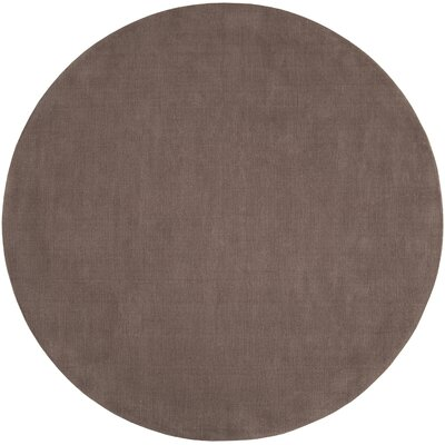 Villegas Chocolate Area Rug Rug Size: Round 8