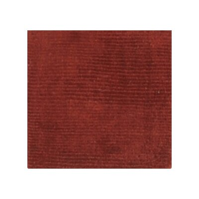 Villegas Dark Rust Area Rug Rug Size: Rectangle 76 x 96