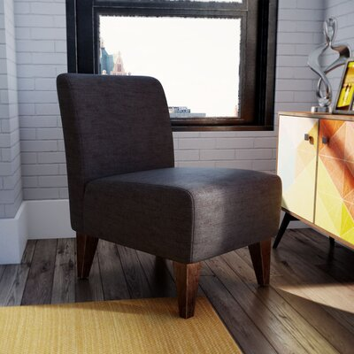 Proctor Slipper Chair Upholstery: Charcoal