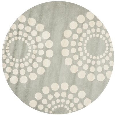 Dash Grey/Ivory Rug Rug Size: Rectangle 26 x 4