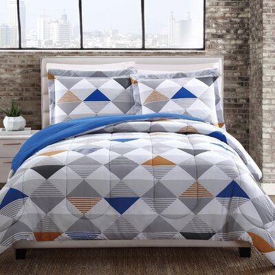 Cherise Reversible Comforter Set Size: King