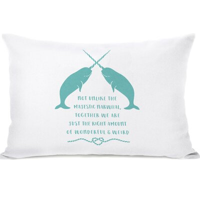 East Rolstone Narwhal Blank Lumbar Pillow