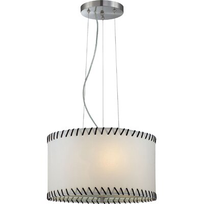 Clutton 3-Light Drum Pendant