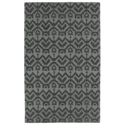 Hinton Charterhouse Hand-Tufted Gray Area Rug Rug Size: Rectangle 5 x 79