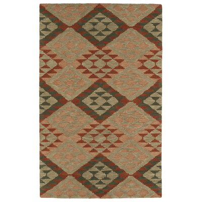 Hinton Charterhouse Hand-Tufted Heathered Camel Area Rug Rug Size: Rectangle 36 x 56