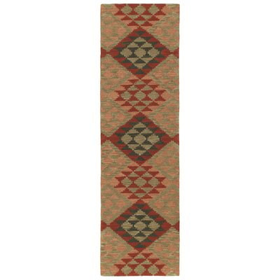 Hinton Charterhouse Hand-Tufted Heathered Camel Area Rug Rug Size: Runner 23 x 8