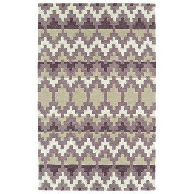 Chiana Hand-Tufted Purple Area Rug Rug Size: Rectangle 8 x 10