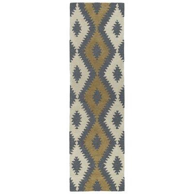 Hinton Charterhouse Hand-Tufted Camel Area Rug Rug Size: Runner 23 x 8