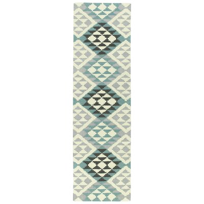 Hinton Charterhouse Hand-Tufted Spa Area Rug Rug Size: Runner 23 x 8