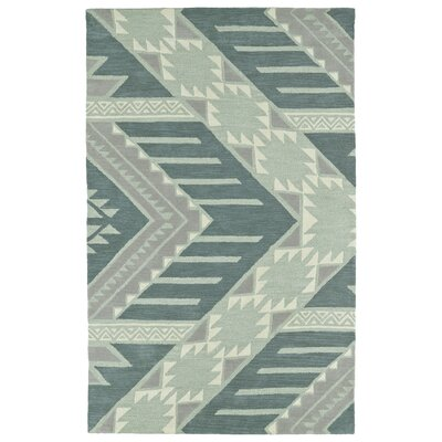 Hinton Charterhouse Hand-Tufted Mint Area Rug Rug Size: 36 x 56