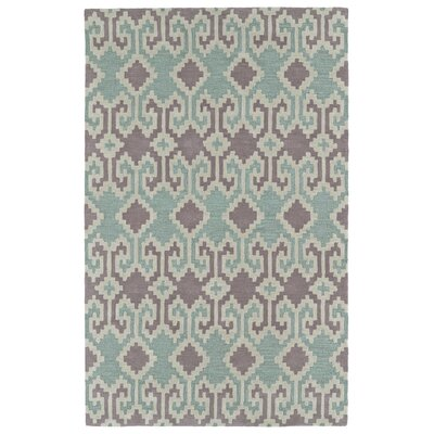 Hinton Charterhouse Hand-Tufted Purple Area Rug Rug Size: Rectangle 5 x 79