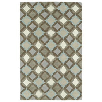 Hinton Charterhouse Hand-Tufted Gray Area Rug Rug Size: Rectangle 8 x 10