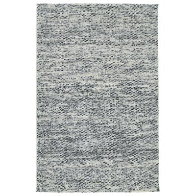 Chianna Handmade Gray Area Rug Rug Size: Rectangle 36 x 56