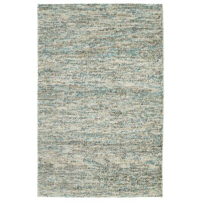 Chianna Handmade Turquoise Area Rug Rug Size: Rectangle 36 x 56